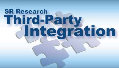 SR Research Third Party Integration