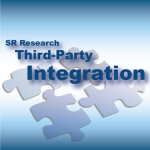 SR Research Third Party Integration Logo