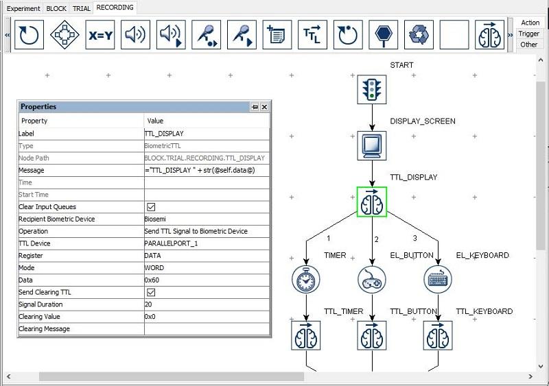 Experiment Builder - BioSemi Integration