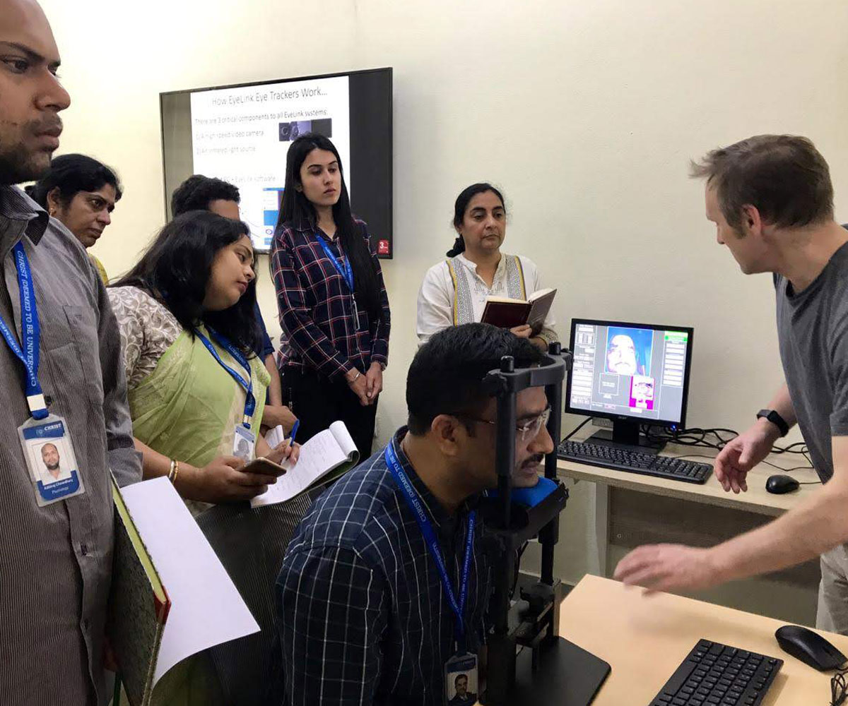 EyeLink Eye Trackers Lab Visits
