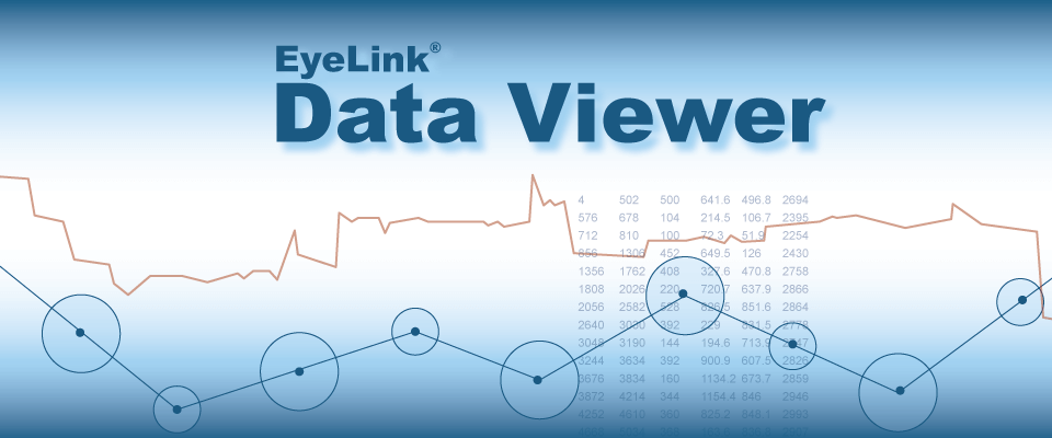 Data Viewer Eye Tracking Software
