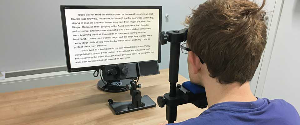 Reading and Language Eye Tracking Solutions