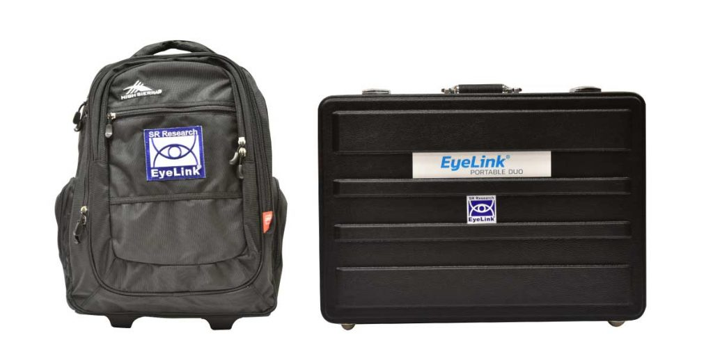 EyeLink Portable Duo Eye Tracker Carrying Cases