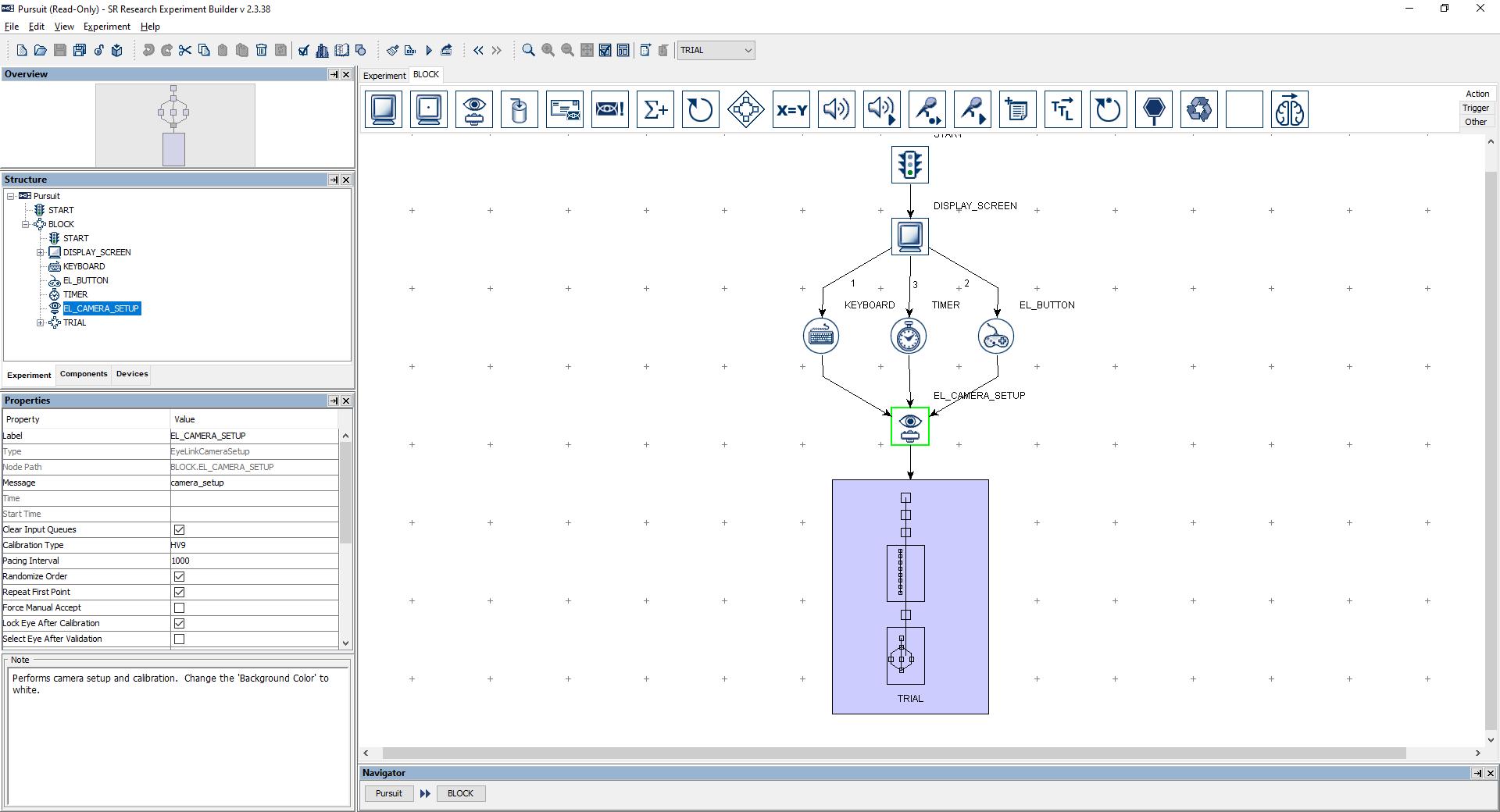 Experiment Builder Eye Tracking Software - EyeLink