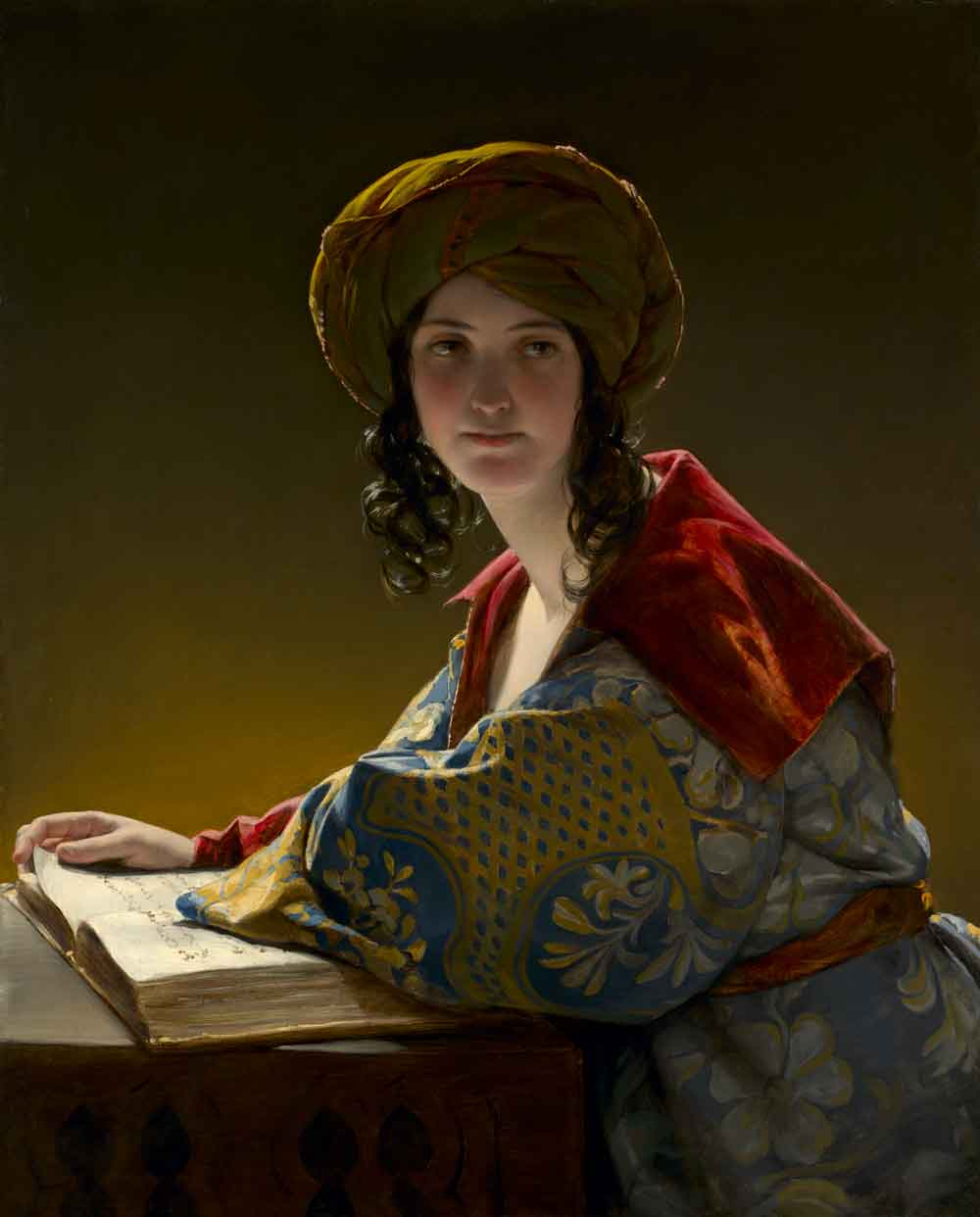 Friedrich Amerling The Young Eastern Woman