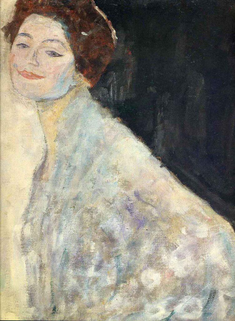 Gustav Klimt Lady in White