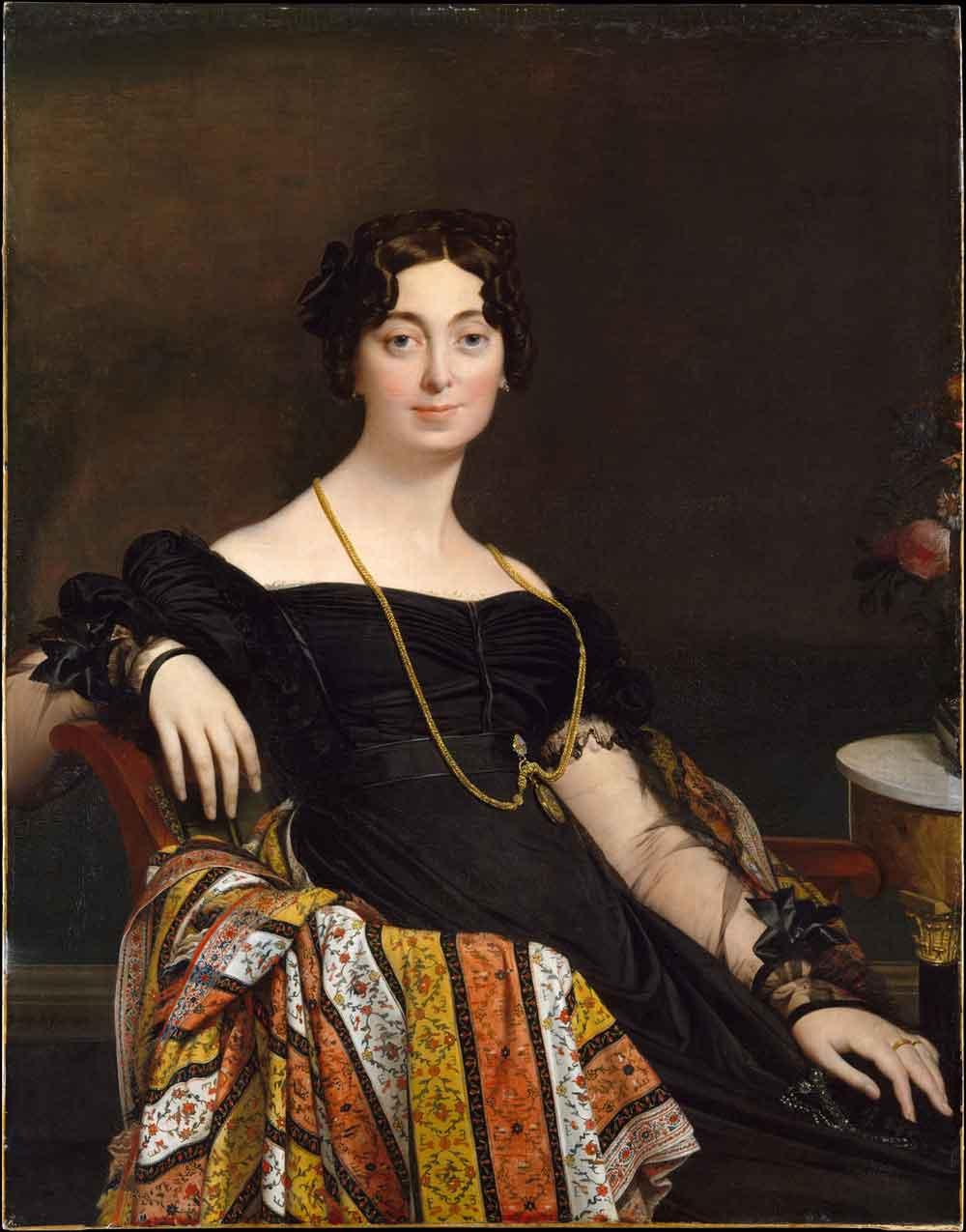 Jean Auguste Dominique Ingres Madame Jacques- Louis Leblanc