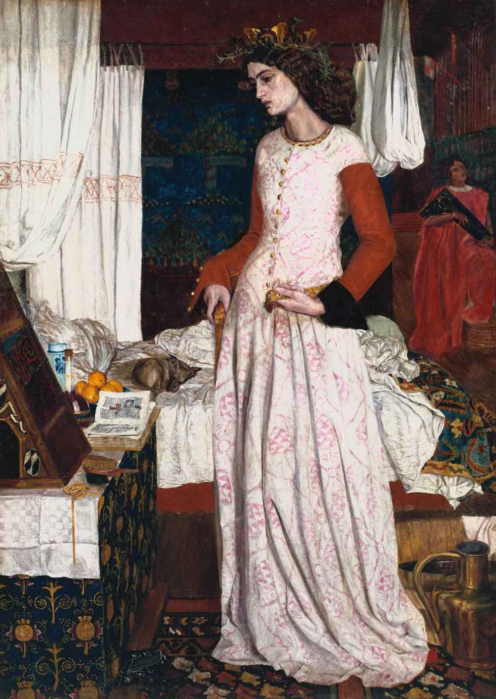 William Morris La Belle Iseult