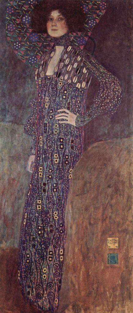 Gustav Klimt Portrait of Emilie Flöge