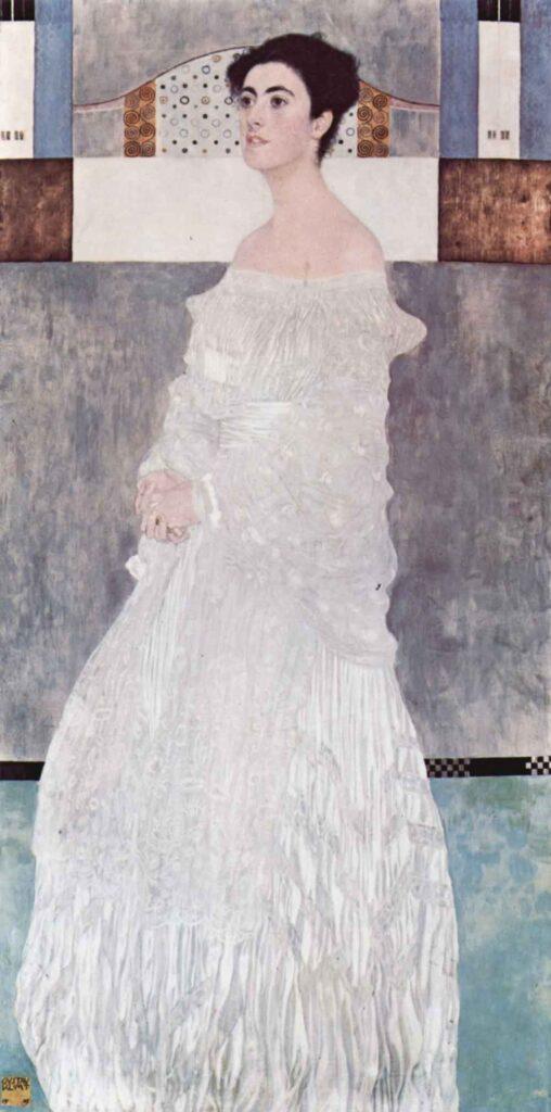 Gustav Klimt - Portrait of Fritza Riedler